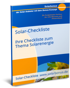 Solar-Checkliste